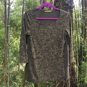 Rare Find! Cut Loose Brand Forest Green Knit Top